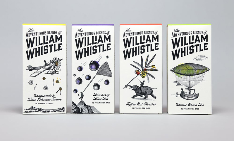 Чайный бренд The Adventurous Blends of William Whistle.
