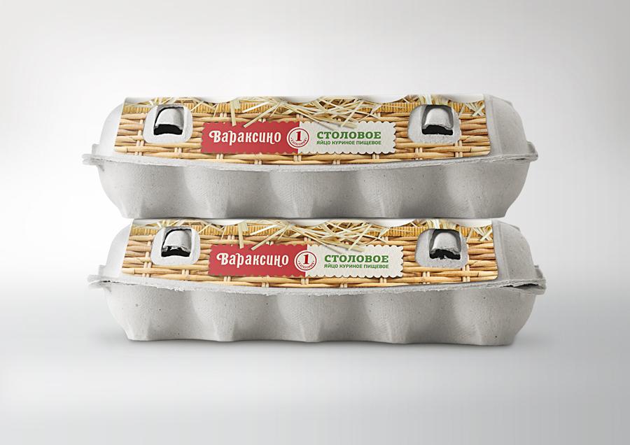 Редизайн упаковки для фасованного яйца.