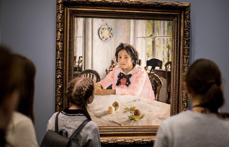 Закончатся ли выставки картин Валентина Серова в России?