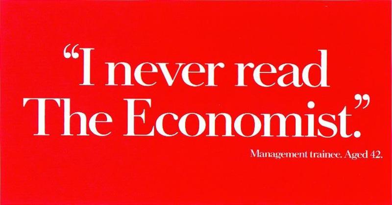 Я не читаю The Economist. Интерн, 42 года.