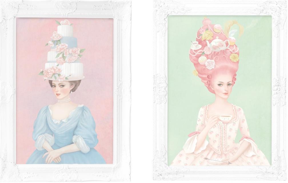Художница Vogue создала иллюстрации для московской кондитерской.