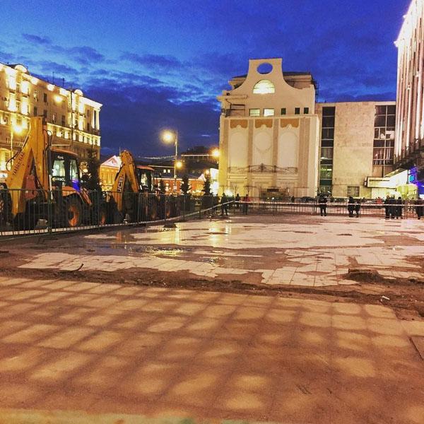 Снос торгового центра «Пирамида» завершен полностью.