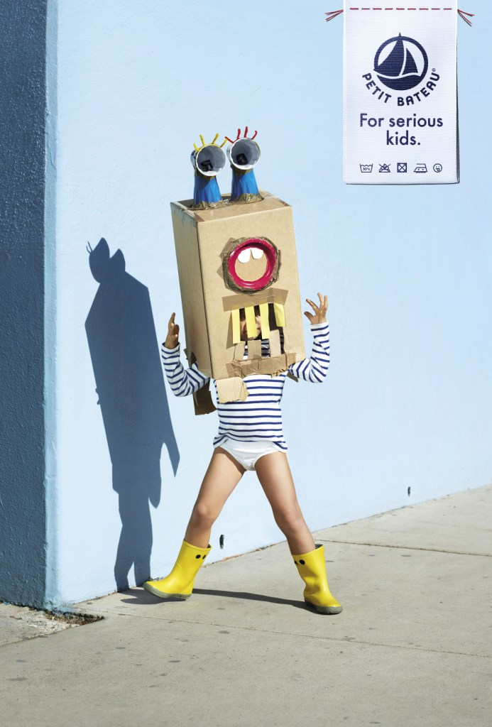 Petit Bateau: для серьезных детей.