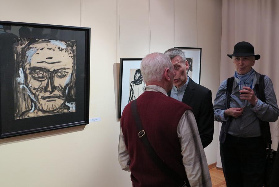 Выставка, посвящённая 100-летию со дня рождения Георгия Щетинина