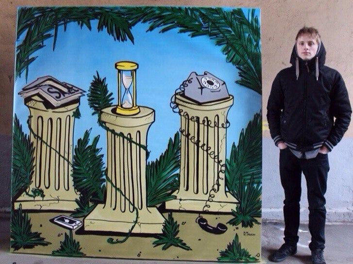 2-е место номинация Street art. Дмитрий Тарасов.