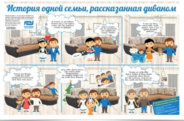 «История одной семьи, рассказанная диваном».