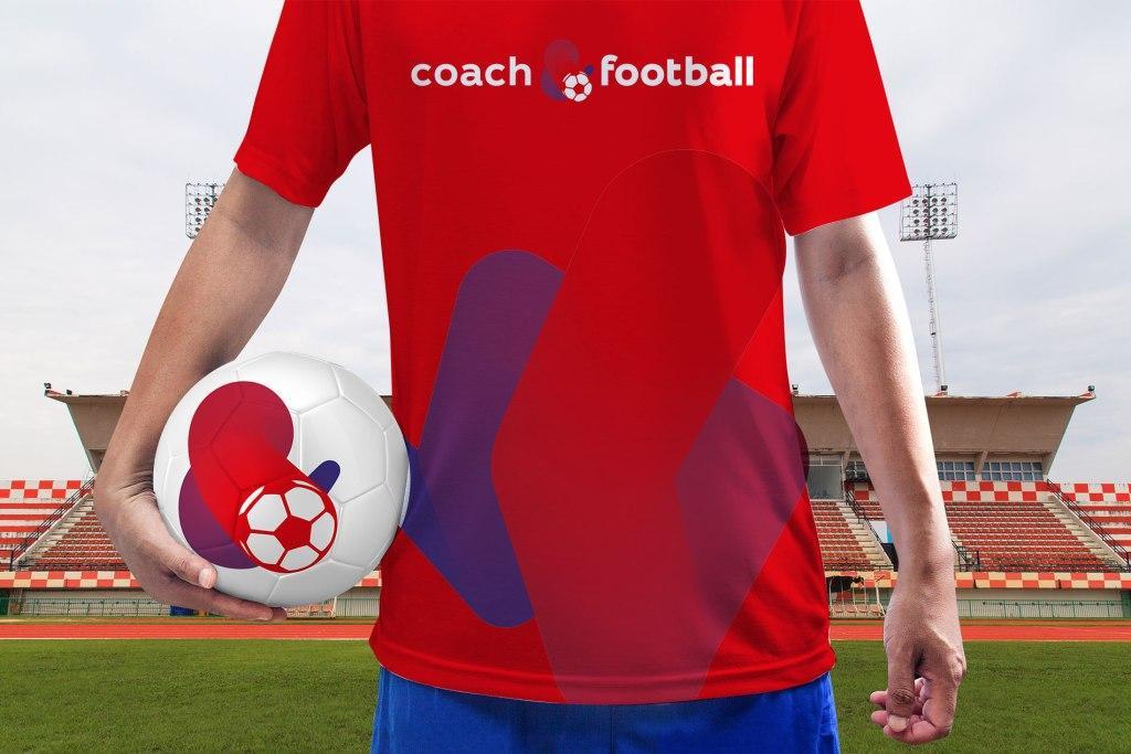 Брендинг для футбольных тренировок.