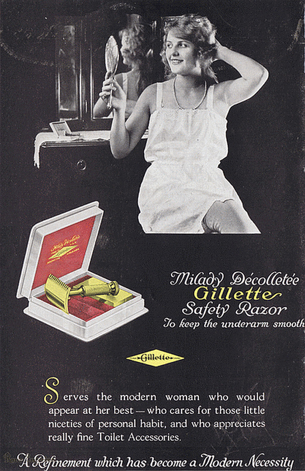 Gillette Milady Decollete.