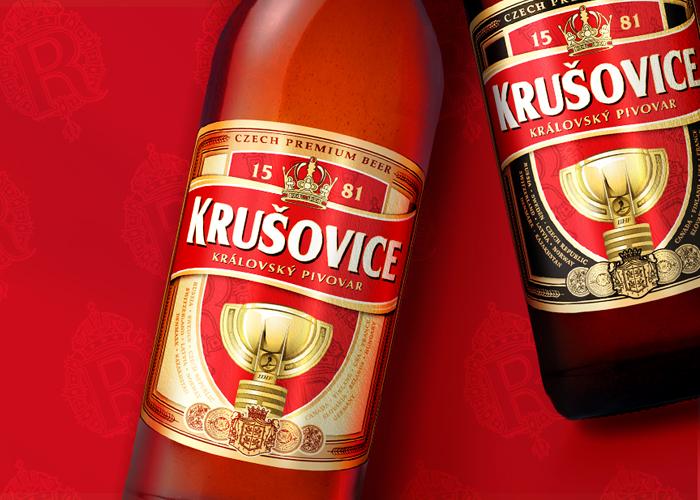Лимитированный дизайн Krušovice.