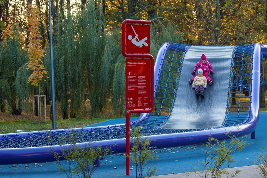 Олимпийская деревня в Москве.