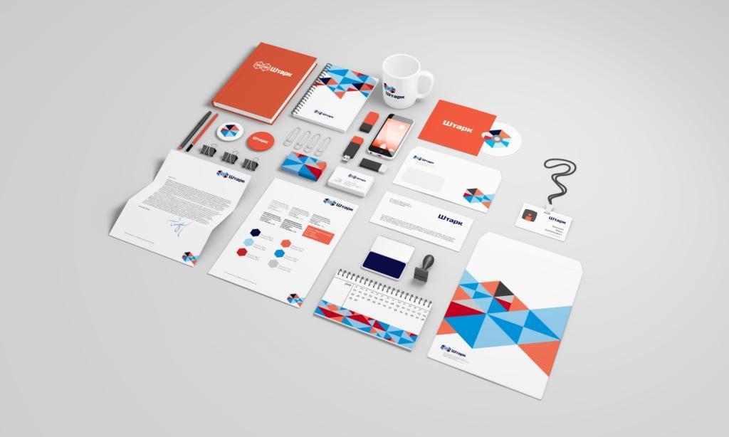 Redbrand разработал новый корпоративный дизайн для «Штарка».
