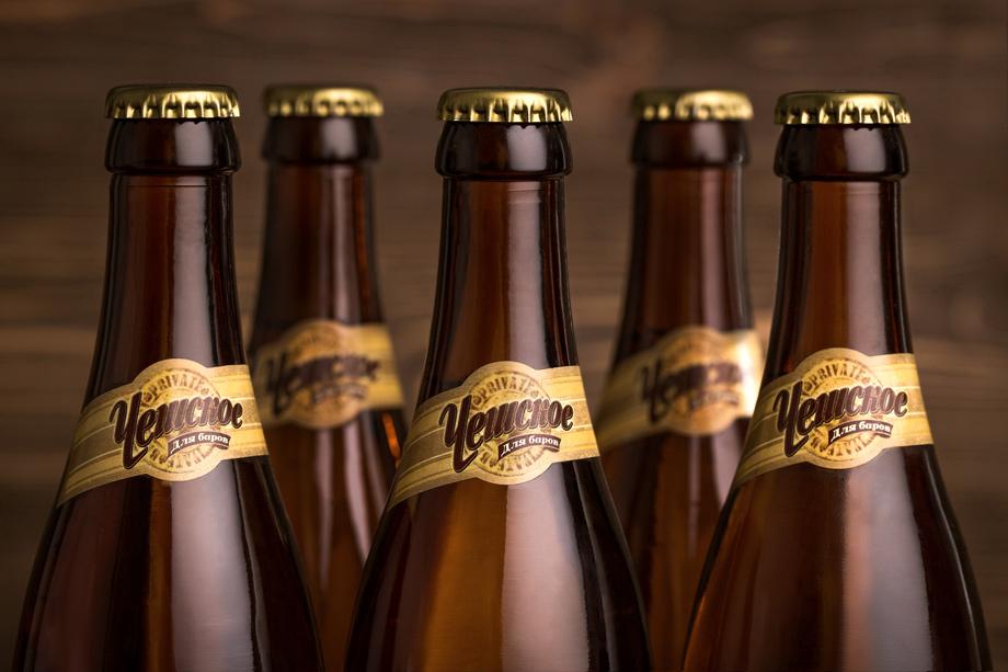 Дизайн пива «Чешское для баров».