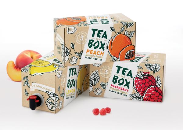 Холодный чай bag-in-box.