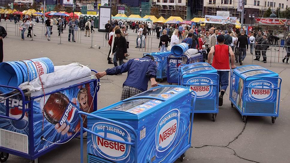 Nestle выводит в Россию мороженое Cadbury и Oreo.