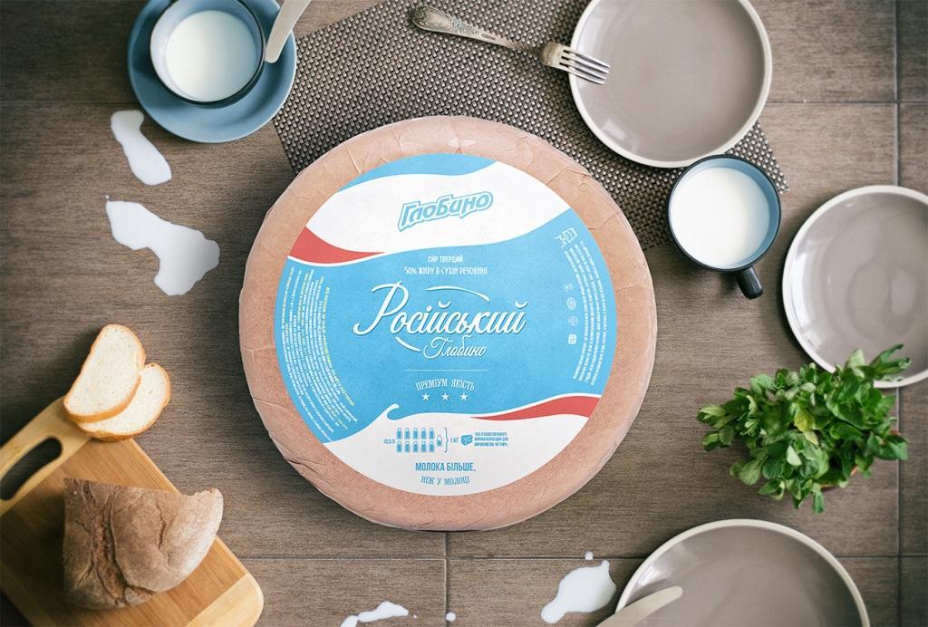 Новый зонтичный молочный бренд «Глобино».