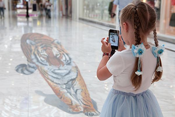 Тигры в рекламе.