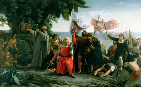 Технология формирования территориального имиджа началась с Колумба и других первооткрывателей.