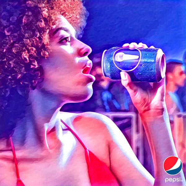 Pepsi и Artisto превращают обычное видео в артхаус.