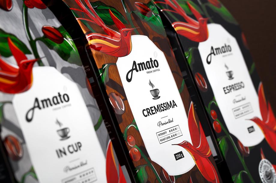 Кофе Amato.