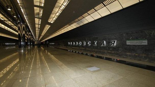 Метро Екатеринбурга осталось без рекламы.