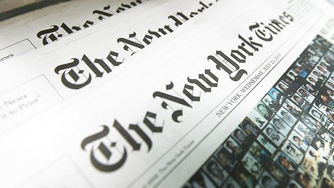 «Нью-Йорк таймс» откажется от стандартных рекламных баннеров.