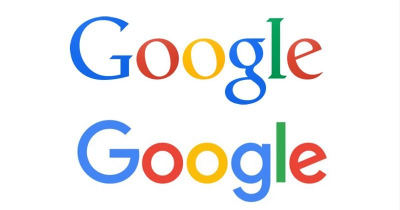 Редизайн Google в 2015 году.