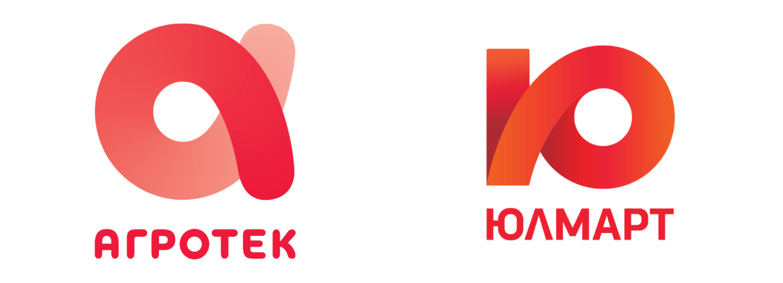 Логотипы «Агротек» и «Юлмарт».