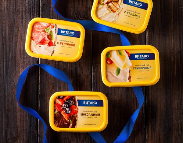 Редизайн сыров «Витако».