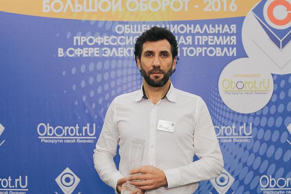 СТД «Петрович» завоевал премию «Большой Оборот» в номинации «Маркетинговая компания».