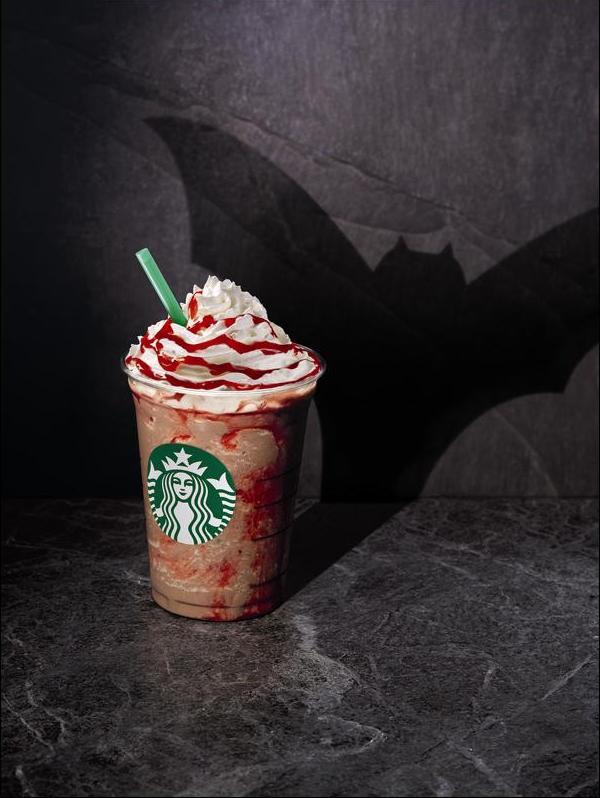 Starbucks, Вампирский Фраппуччино.