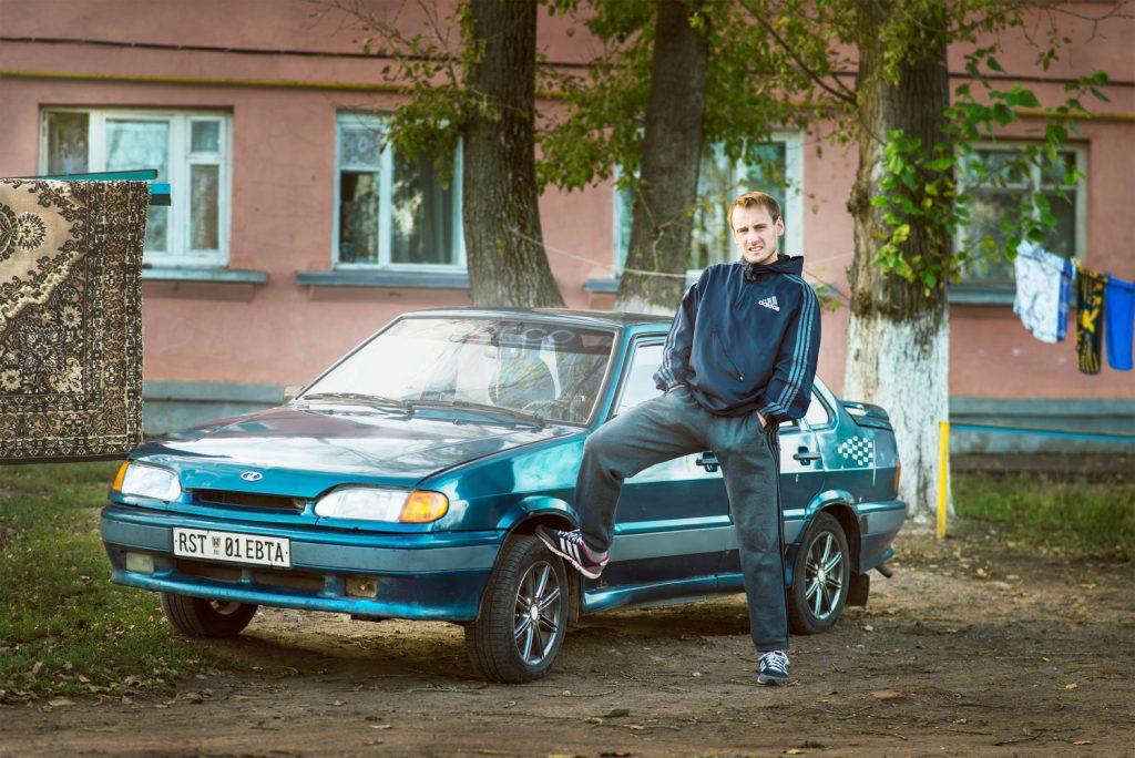 Новый дизайн российских автомобильных номеров.