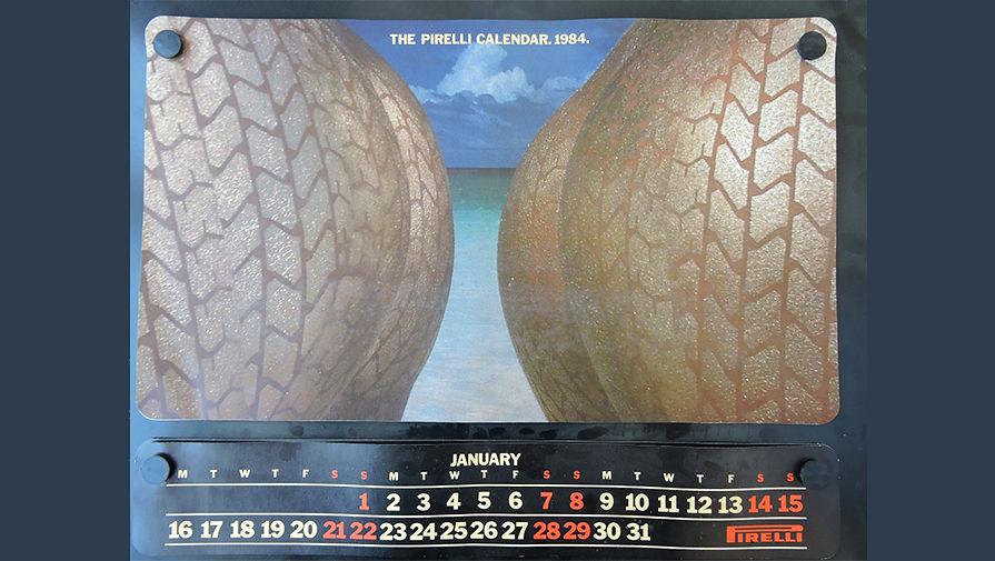 Календарь Pirelli 1984 года.