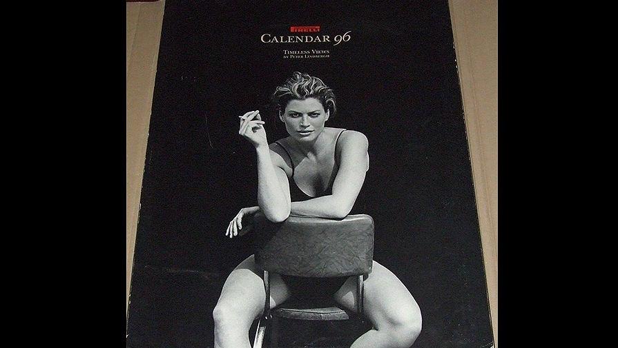 Календарь Pirelli 1996 года.
