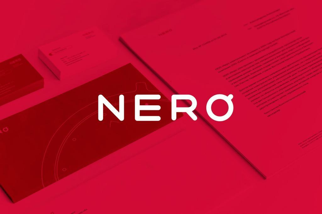 Фирменный стиль компании «Неро электроникс».