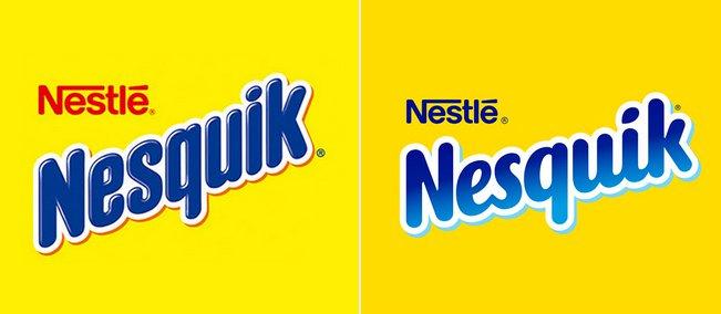 Nestle обновила логотип и бренд-персонаж Nesquik.