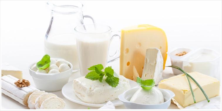 Nielsen: категория молочной продукции замедлила свой рост.
