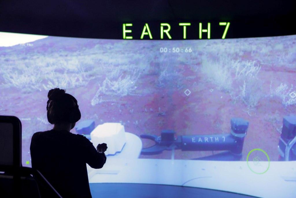 S7 Airlines запустила планетоход EARTH7.