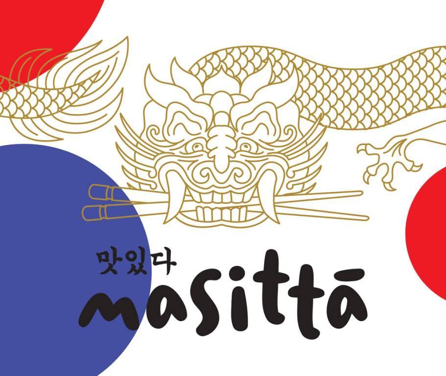 Аутентичный азиатский стиль для корейской компании.
