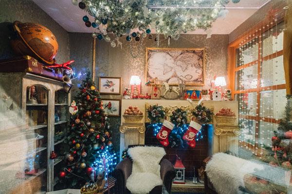 Новогоднее оформление Детский Мир Москва 2017
