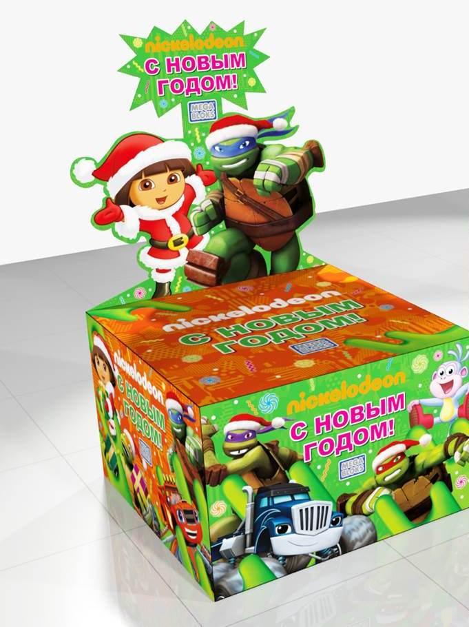Nickelodeon Viacom Consumer Products и «Детский мир» запускают новогоднюю промо-кампанию при поддержке Mattel.