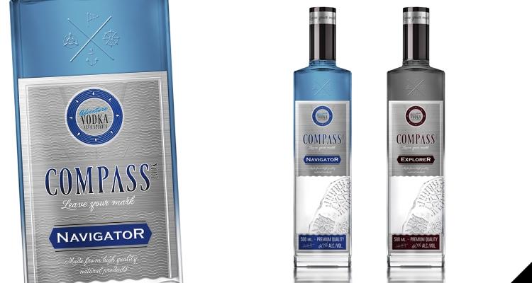 Новый бренд водки Compass.