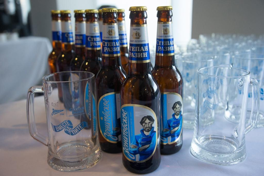 «Степан Разин» стал официальным партнером «Зенита».