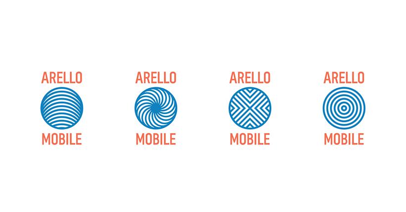 Айдентика Arello Mobile.