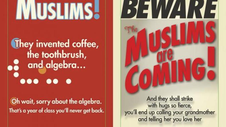 В метро Нью-Йорка стартовала рекламная кампания мусульман.