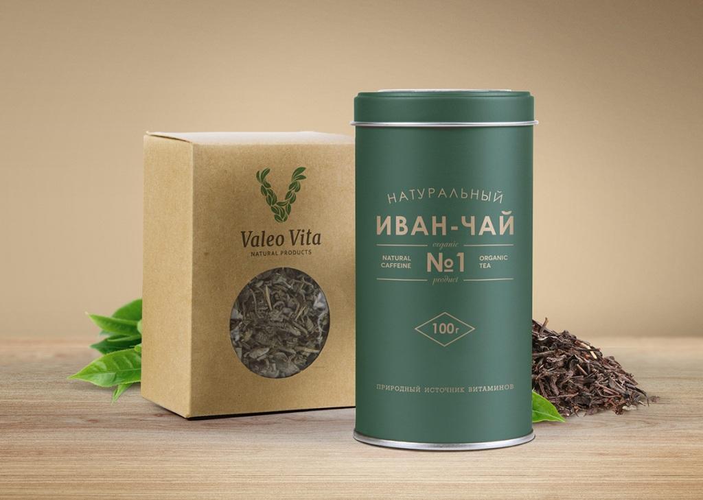 Фирменный стиль для чайной компании.