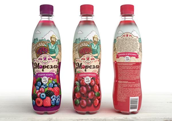 Дизайн морсового напитка
