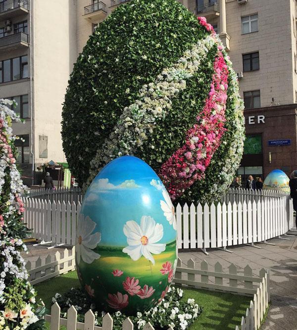 «Пасхальное яйцо», Камергерский переулок.