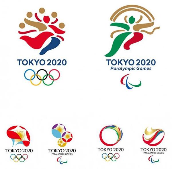 Финальные варианты логотипа Олимпиады-2020.