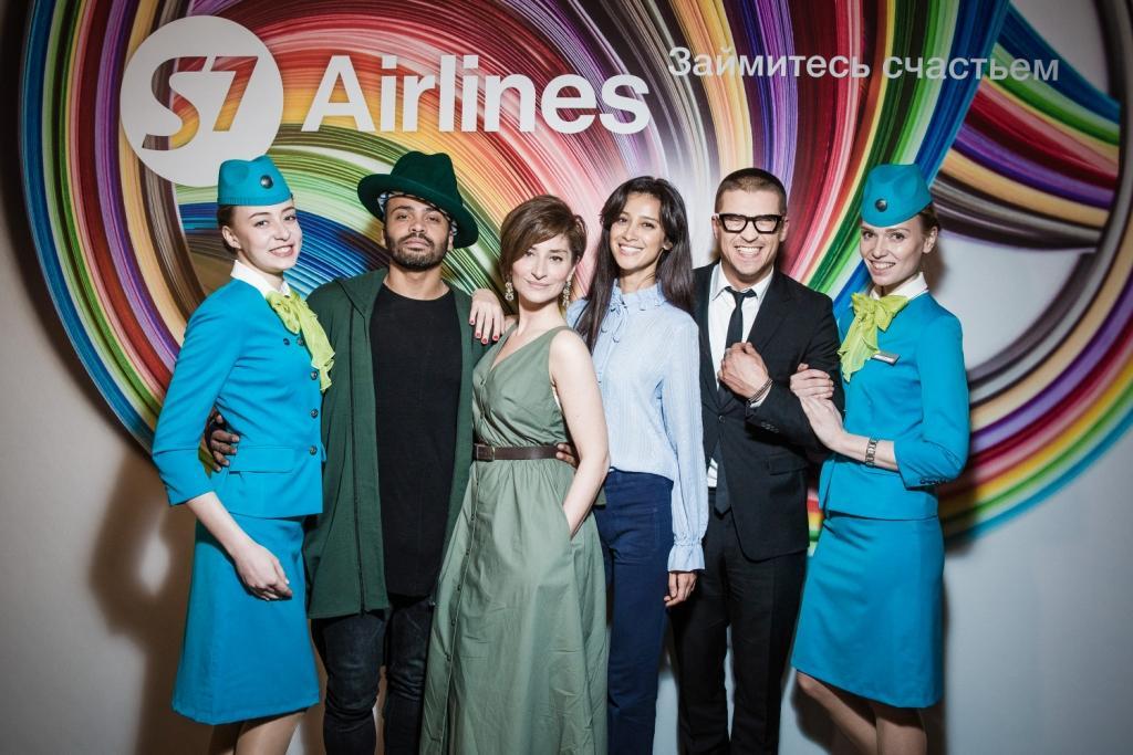 S7 Airlines представила официальных бренд-амбассадоров.