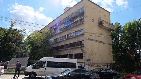 Дом Наркомфина на Новинском бульваре обретет первоначальный вид.